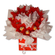 red and white ferrero