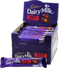 Cadbury Fruit & Nut 42 x50g display box