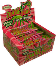 zombie sour strawberry chews