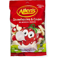 Allens Strawberries and Cream 12 x 190g
