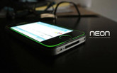 NEONTUFF Glowing Unbreakable Screen Protector for iPhone 4/4s