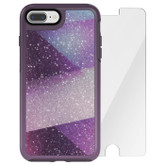 OtterBox Symmetry Case Crystal Edition iPhone 7+ Plus w/ Alpha Glass - Fractal