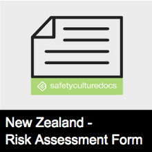 Fatigue Risk Assessment Form - NZ