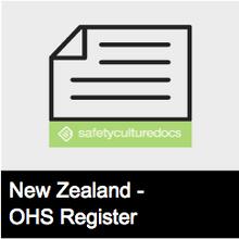 Risk Register - NZ