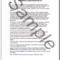 Hazardous Substances Policy