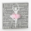 Ballet Plaque with Tutu