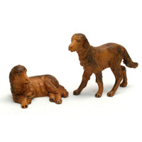 Fontanini 5'' Scale Nativity Dog 2 Piece Figurine Set