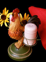Rooster Salt & Pepper Shaker Set