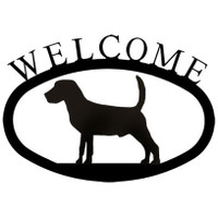 Welcome Sign Small - Beagle