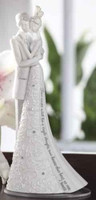 Wedding Cake Topper Forever 6.25""