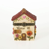 Momma Bearsworth Blossoming Home Trinket Box - Closed view