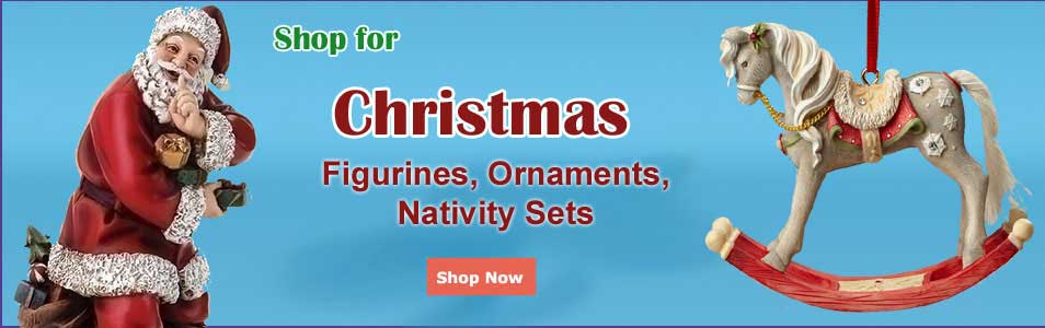 Shop for Christmas ornaments, collectibles, figurines and musicals