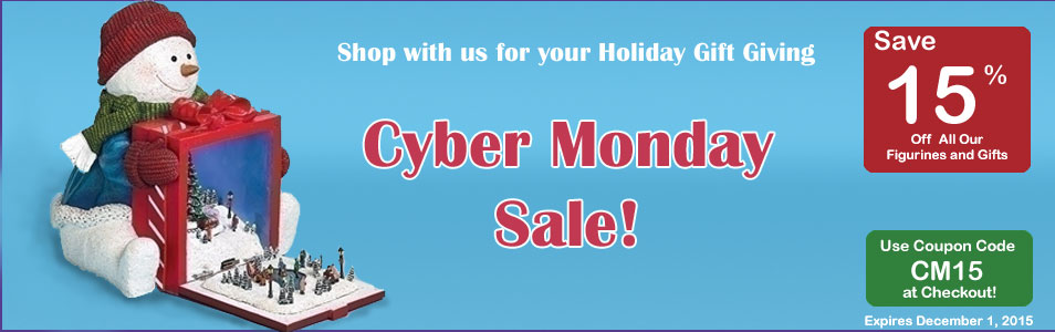 Cyber Monday Sale coupon 15% off