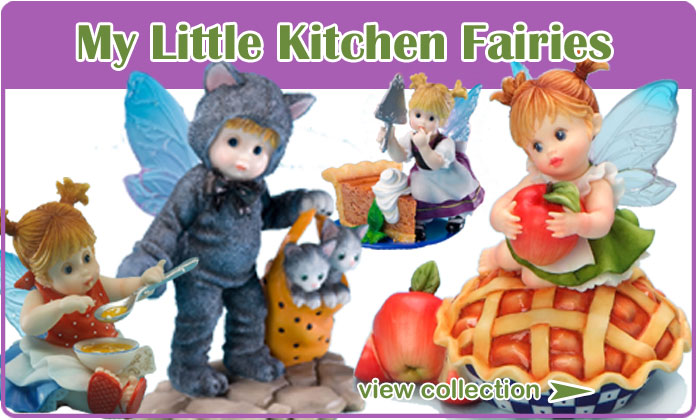 My Little Kitchen Fairies Figurines