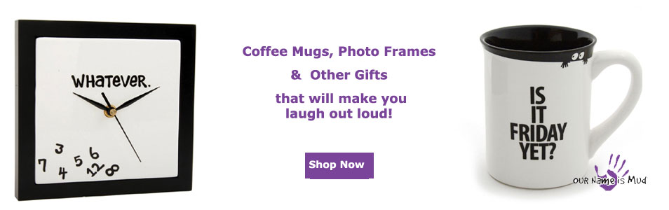 Mugs and Gifts with witty sayings