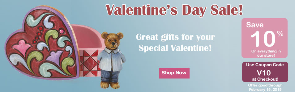 Valentine's Day Sale figurines and gifts