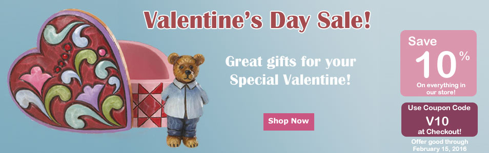 Valentines Day Gifts 10% discount