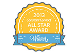 Prince August wins the all star award from Constant Contact 2014