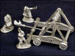 Cast version of the Catapult and orc artillery crew