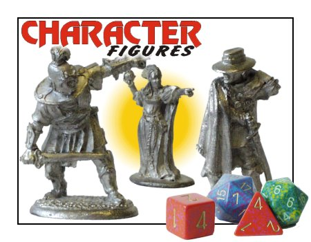 Character Figures made by Prince August toy soldier factory.