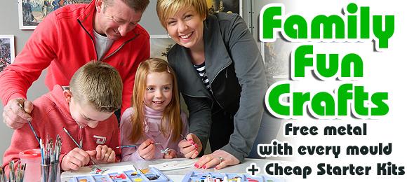 Family Crafts: Free Metal & Cheap Starter Kits.
