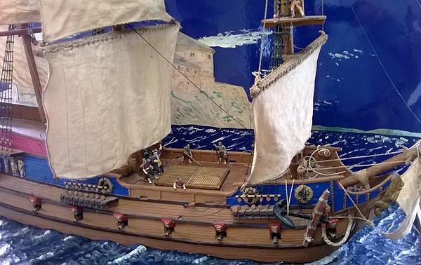 The Karolinska Fleet with converted Prince August crew!
