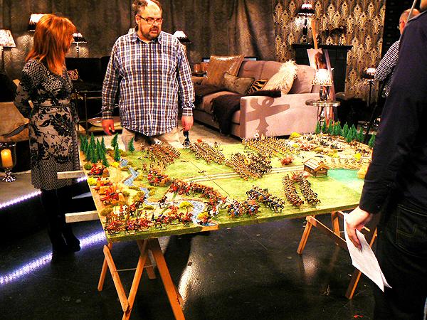 Jan Arnerdal huge diorama