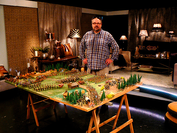 Jan Arnerdal huge diorama.