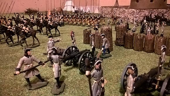 Jan Arnerdal - Swedish attack on Russian Battalion