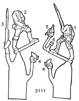 PA3111 Seven Years War Russian Illustration