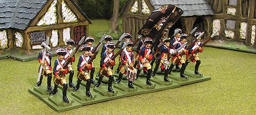 Seven Years War Prussian Musketeers