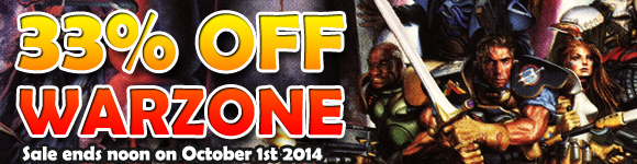 Warzone Mutant Chronicles: 33% Off