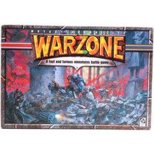 Warzone Mutant Chronicles Tabletop Wargame, includes 3 rule books, templates, dice and 80 plastic soldiers