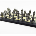 The Battle of the Alamo: Texian Chess Side Moulds