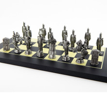 The Battle of the Alamo: Mexican Chess Side Moulds