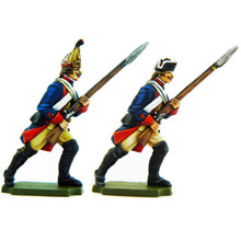 Prussian Musketeer and Grenadier