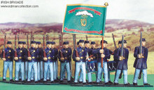 Irish Brigade Union Army Set of pewter miniatures