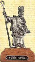 Saint Patrick Pewter Miniature