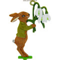 Easter Decoration Mould - Snowdrop Bunny