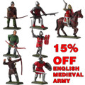 English Medieval Knight moulds