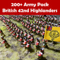200+ Army Pack British 42nd Highlanders
