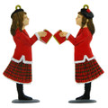 Christmas Female Carol Singer Decoration