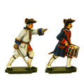 PA3115 Seven Years War France: Officer and Drummer