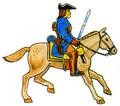 Karoliners Cavalry man