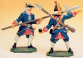 French Regiments 1750 halberdier & grenadier