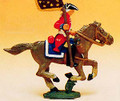 French Regiments 1750's Cavalry Standard Bearer