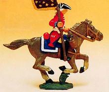 French Regiments 1750's Cavalry Standard Bearer