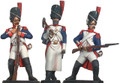 French Imperial Guard Infantry reloading and sapper 1805
