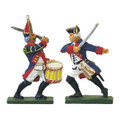 Prussia: Officer & Drummer