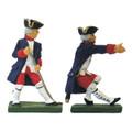 France: Royal Artillery men